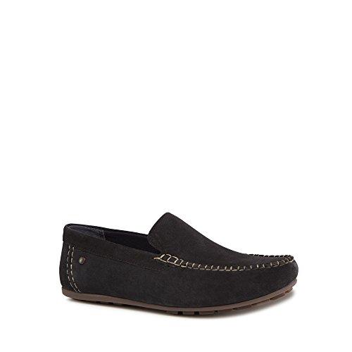On London Slip 'Henton' Suede Base Navy Shoes Men np1wCx7Oq