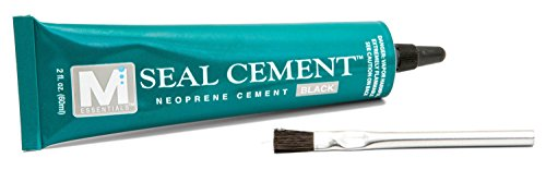 M Essentials Seal Cement Neoprene Contact Adhesive - Black -2 oz tube (Neoprene Seal Cement)