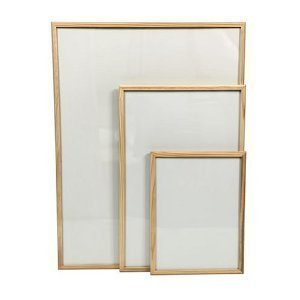32 x 24 wooden framed magnetic dry wipe whiteboard
