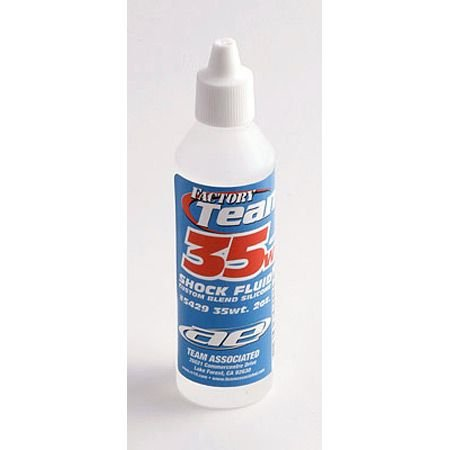 Team Associated 5429 35 Weight Silicone Shock Oil, 2-Ounce