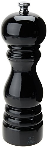 Peugeot 1870418/SME Paris Classic Salt Mill, 7-Inch, Black (Peugeot Paris Black Lacquer)