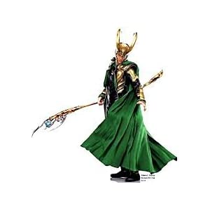 Marvel Loki Master Of Mischief Spray Fragrance 3.4 oz green bottle with Loki helmet shaped cap.
