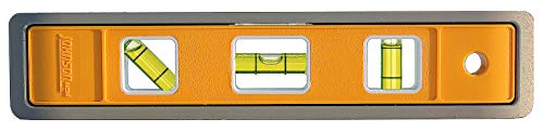 (Johnson Level & Tool 4500M 9-Inch Magnetic Aluminum Torpedo Level)
