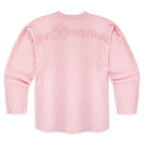 (Disney World Spirit Jersey Millennial Pink Shirt Girls (Medium))