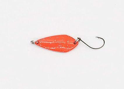 GTT Turbo Spoony //// 2,5g L/öffelblinker D/öbel Trout-Spoon //// Ideal f/ür das Ultralight-Angeln auf Forelle 3,0cm //// Forellen-Blinker Saibling Trout