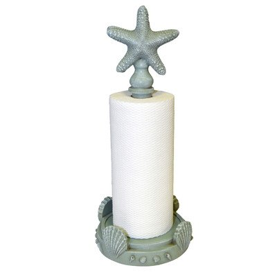 Star Fish Paper Towel Holder Finish: Seamist Green by Hickory Manor House
