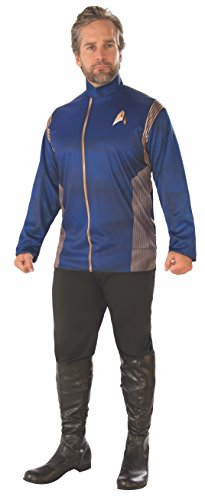 Rubie's Men's Star Trek Discovery Command Uniform Adult Costume Top, X-Large -