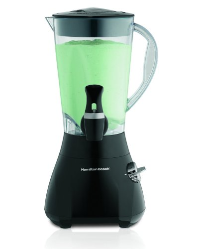 Hamilton Beach Wavestation Express Dispensing Smoothie Blender with 48-Ounce Jar, Black (54615)
