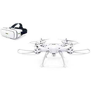 Promark Virtual Reality Drone - P70 - 720p HD Camera - Wifi Streaming Quadcopter - Easy-to-Fly HD Camera Drone - Stream, Record, & Photograph Live by Promark