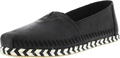 TOMS Women#039s Seasonal Classics Black Leather 85 B US