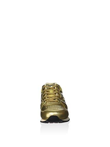 Donna Eu Giallo Shibuya Gold Oro 36 Tokyo Sneakers Leggenda Lotto Star Antique Pelle White Rwq7ZF5