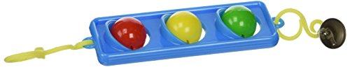 JW Pet Company Activitoy Traffic Light Small Bird Toy, Colors (Jw Pet Plastic Balls)