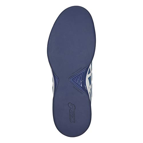 dedicate Chaussures Indoor Asics Tennis Blu Homme Gel azure 400 white 5 De CIqwF5wt