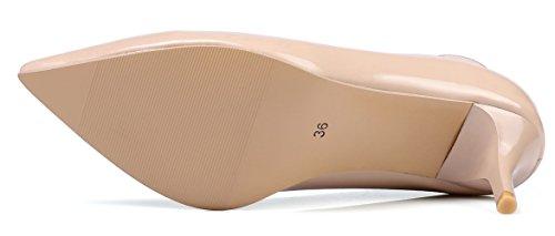 KingRover Escarpins Pour Femme 6cm Light Pink dW44Z