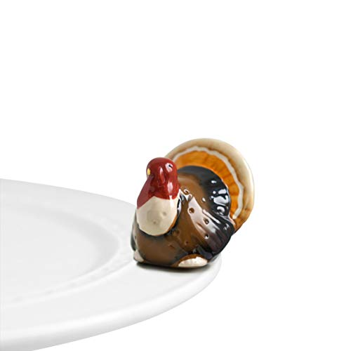Nora Fleming Hand-Painted Mini: Gobble Gobble (Turkey)