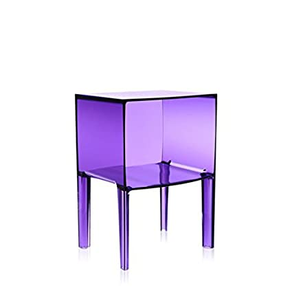 Kartell Small Ghost Buster   Transparent Purple Container (Original Made In  Italy)