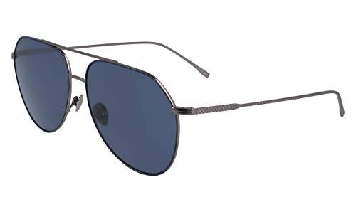Lacoste L209s Aviator Sunglasses Silver Matte 60.93 ()
