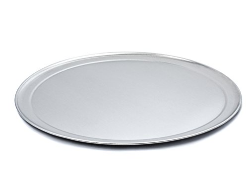 USA Pan Bare Aluminum Bakeware 1097PZ-BB 14 Inch Pizza Baking Pan Warp-Resistant, Rust-Proof Bakeware
