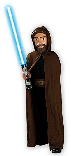 Boy's OBI Wan Kenobi Outfit Fancy Dress Child Halloween Costume, Child OS -