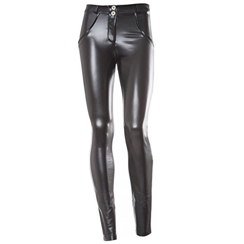 a4d91911846718 Freddy WR.UP Low Rise Eco Leather Effect Skinny - Womens - Import It All