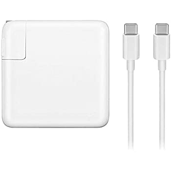 Amazon.com: 61W USB-C Power Adapter Charger, with USB-C to ...