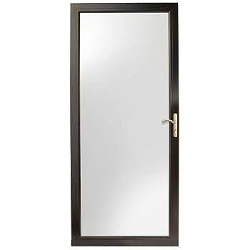 Black Fullview Easy Install Storm Door