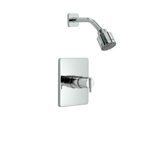 Jado 831486.100 Glance Pressure Balance Shower Trim, Polished Chrome