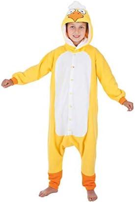 Creaciones Llopis Disfraz de Pollito Amarillo para niños: Amazon ...