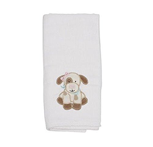 Maison Chic Single Burp Cloth, Mollie The Puppy