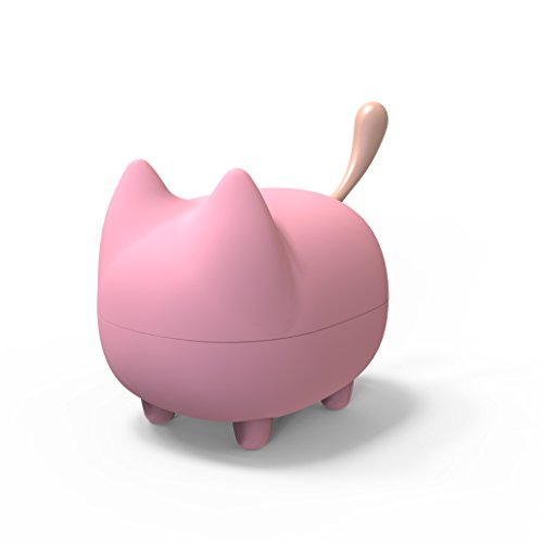 JFtown Cartoon Pet Cat Mini Cute Bluetooth Animal Wireless Speaker for Kids, Girls, Gifts, Toys with Powerful Sound 3W Audio Driver for iPhone/iPad/iPod/Samsung/HTC/Tablets by JFtown