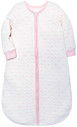 Scenehigh Baby Sleep Sack Boys Girls Sleeping Bag Wearable Blanket Winter Sleepers(18-36 Months,Pink)