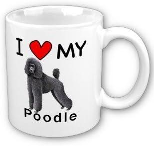 I Love Heart My Poodle Mug