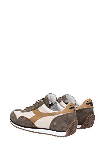 Sneakers Diadora Heritage Uomo Tessuto Beige, Marrone e Nero 20115698801C6145 Beige 41EU
