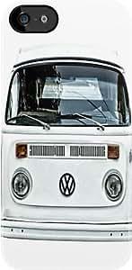 SUUER White Volkswagen white case Custom Hard CASE for iPhone 5 5s Durable Case Cover