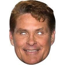 Famous People Masks David Hasselhoff (máscara/ careta)