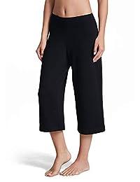 Jockey Women's Activewear Relaxed Wide Leg Capri