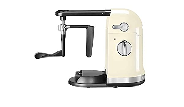 KitchenAid 5KST4054 - Procesador de alimentos, color crema: Amazon ...