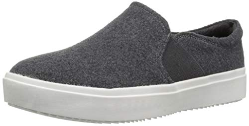 Dr. Scholl's Shoes Women's Wander Up Sneaker, Charcoal Grey Flannel, 11 M US