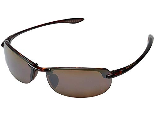 Maui Jim Makaha Reader Polarized Rimless Sunglasses, Tortoise, 64 mm ()