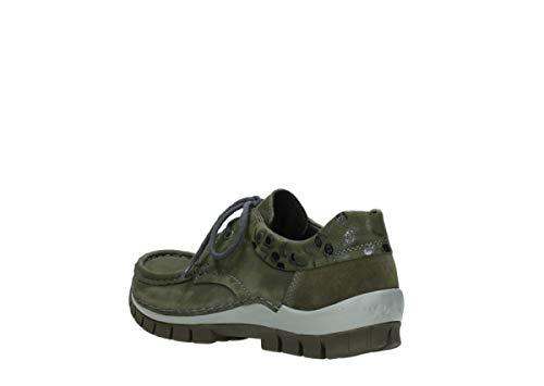 59730 Leather Leder Forestgrun Sandals Wolky Rio Womens Ww0z1IqxAZ