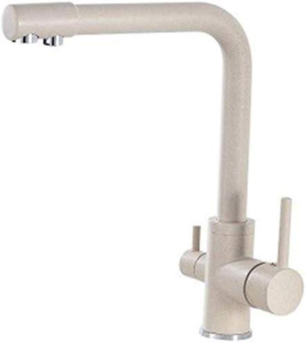 HXC-HXC キッチン蛇口現代の360度回転キッチンシンクミキサータップメッキ真鍮とお湯デッキ設置浴室のシンクの蛇口ホテルの上カウンター盆地の蛇口 蛇口