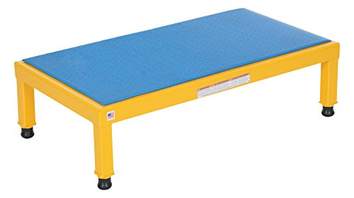 Vestil AHT-H-1936 Adjustable Work-Mate Stand with Ergo-Matting Deck, Steel, 36'' Length x 19'' Width Deck, 500-lb. Capacity, 10-1/2'' - 16-1/2'' Height Range by Vestil