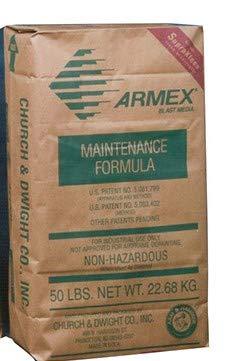 50 Lbs. Medium Grade Armex Soda Blast Media