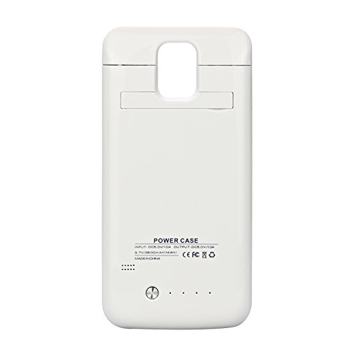 wholesale dealer 0eaba fc8e5 Amazon.com: Samsung Galaxy S5 i9600 3800mAh Battery Case, BasicStock ...