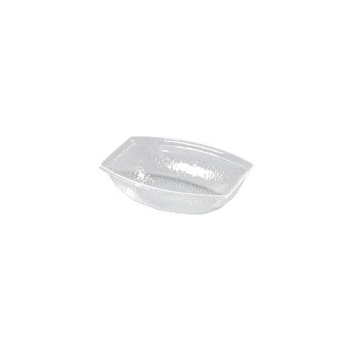 - Carlisle OSB17207 5.5 Qt. Clear Oval Pebbled Acrylic Bowl