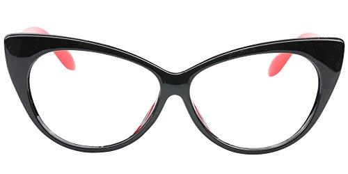 SOOLALA 3-Pair Value Pack Fashion Designer Cat Eye Reading Glasses for Womens, 1.5D by SOOLALA (Image #4)
