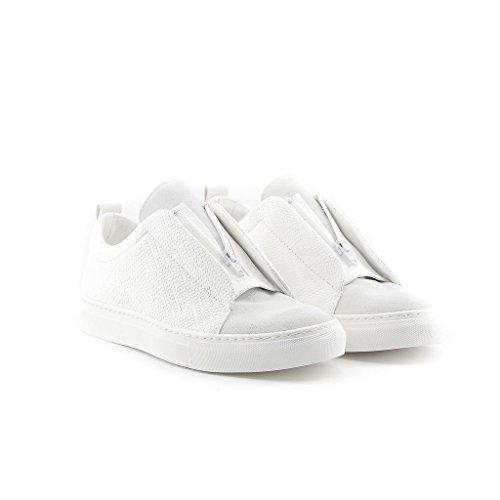 Uomo Italia Sneakers In Gregorio Made Bianca g5qAIx