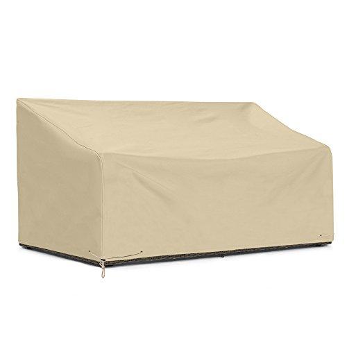 SunPatio Outdoor Deep Sofa Cover, Waterproof Patio Furniture Cover 80″ L x 39″ W x 3 ...