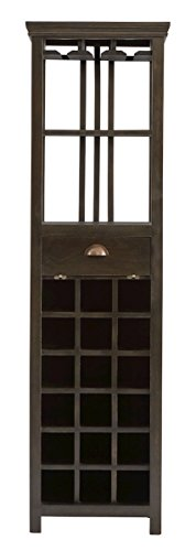 Stein World 13619 Fauna Tall Wine Storage - Stein World Wine Cabinet