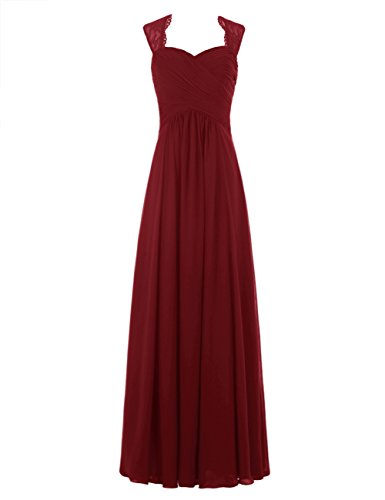 Tideclothes ALAGIRLS Chiffon Bridesmaid Dresses product image